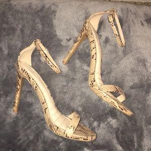 Snakeskin Heels 🐍